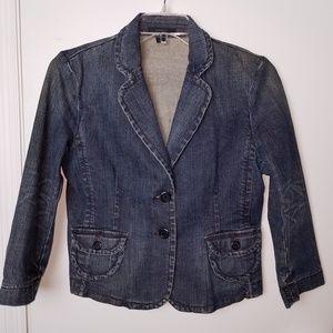 Express Woman's Jean Jacket size Lg.